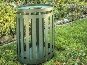Garbage Receptacle Container–With Customizations