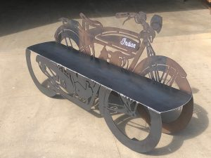 1923 Motorcycle Bench with Custom Options